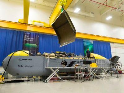 Американцы запустили эскадру подводных роботов